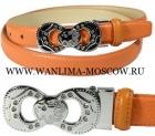 Ремень женский Cefiro ВС-СС9124-4 оранж.